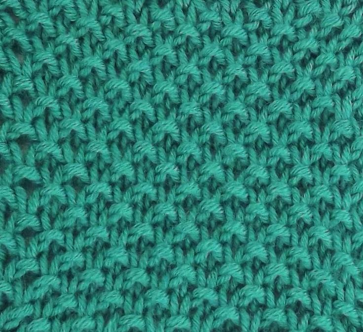 Moss Slip Stitch Is Found In The Bobbles Amp Slip Stitches
