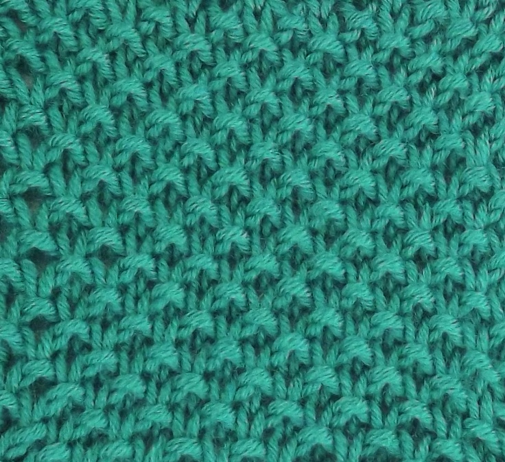 Knitting Stitches Instructions Slip Stitch : Moss Slip Stitch is found in the Bobbles & Slip Stitches Category. Marc...