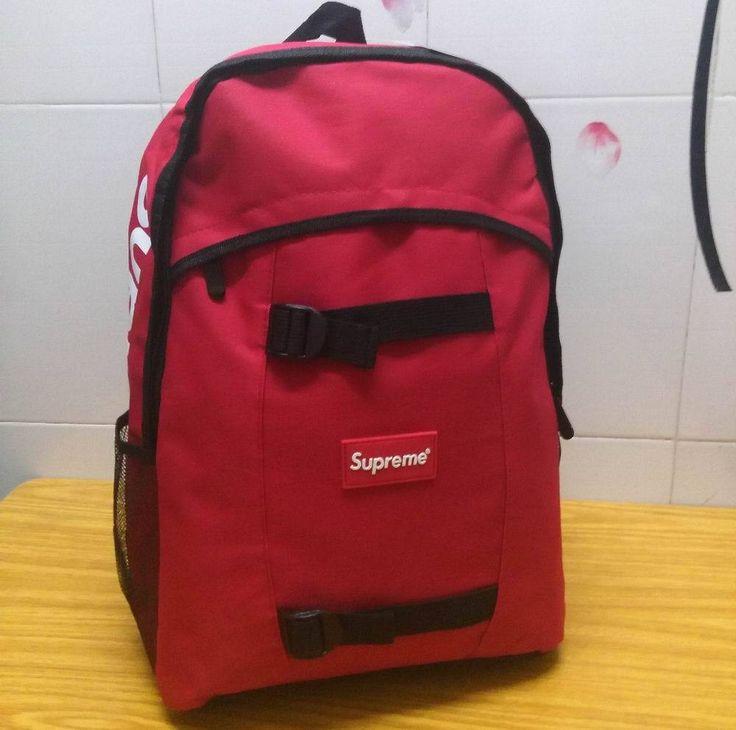New Supreme Backpack Sport Skateboard Bag Men And Women Camouflage