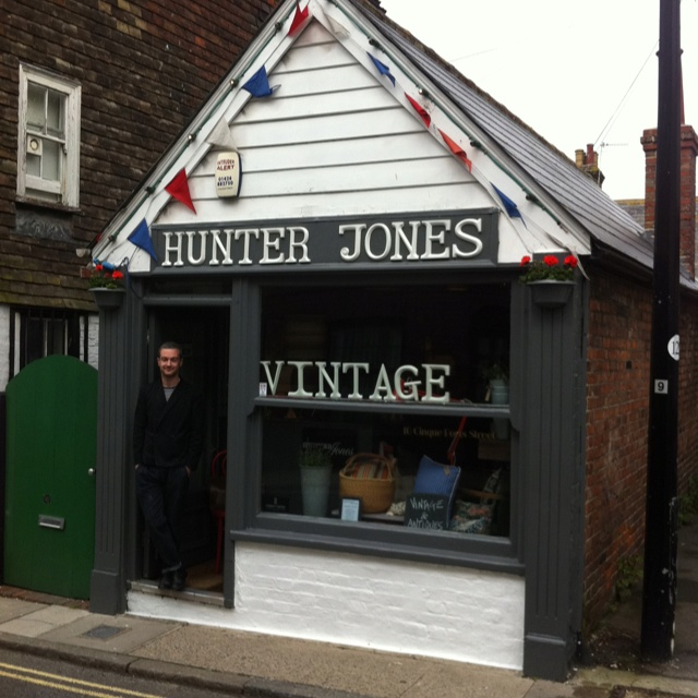 Hunter Jones on Cinque Ports Street, freshly painted!