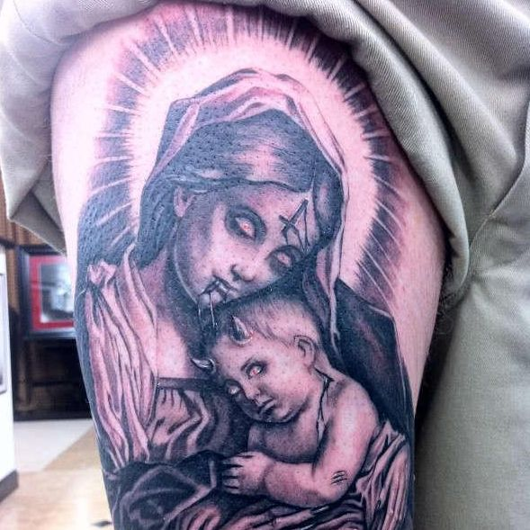 35 Spiritual Virgin Mary Tattoo Designs Amp Meanings Tattoosquotes