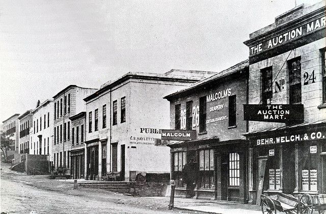 Strand Street in the late 1870s | Flickr - Photo Sharing!