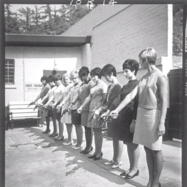Women's hand gun training course.