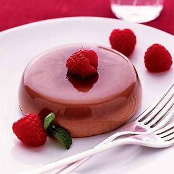 Chocolate Panna Cotta - FamilyCircle.com