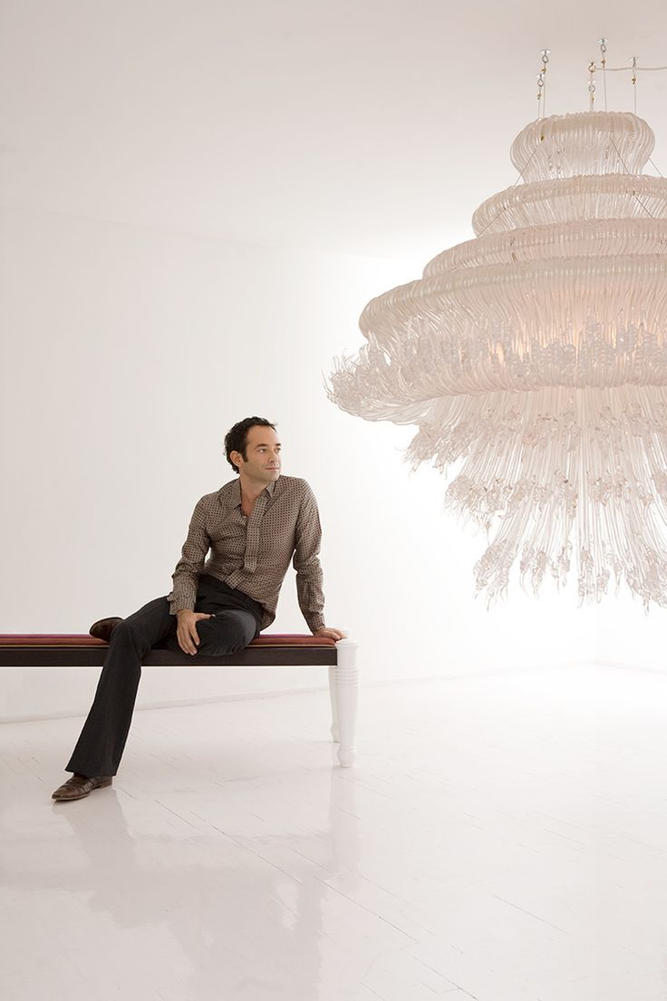 JACOPO FOGGINI | Portrait with Sneeze pendant lamp 2009
