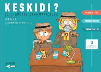 Ce fichier rassemble 30 enquêtes grammaticales pour réviser en CE1 et CE2 de manière ludique plusieurs notions au programme 2016 de l'étude de la langue  française.