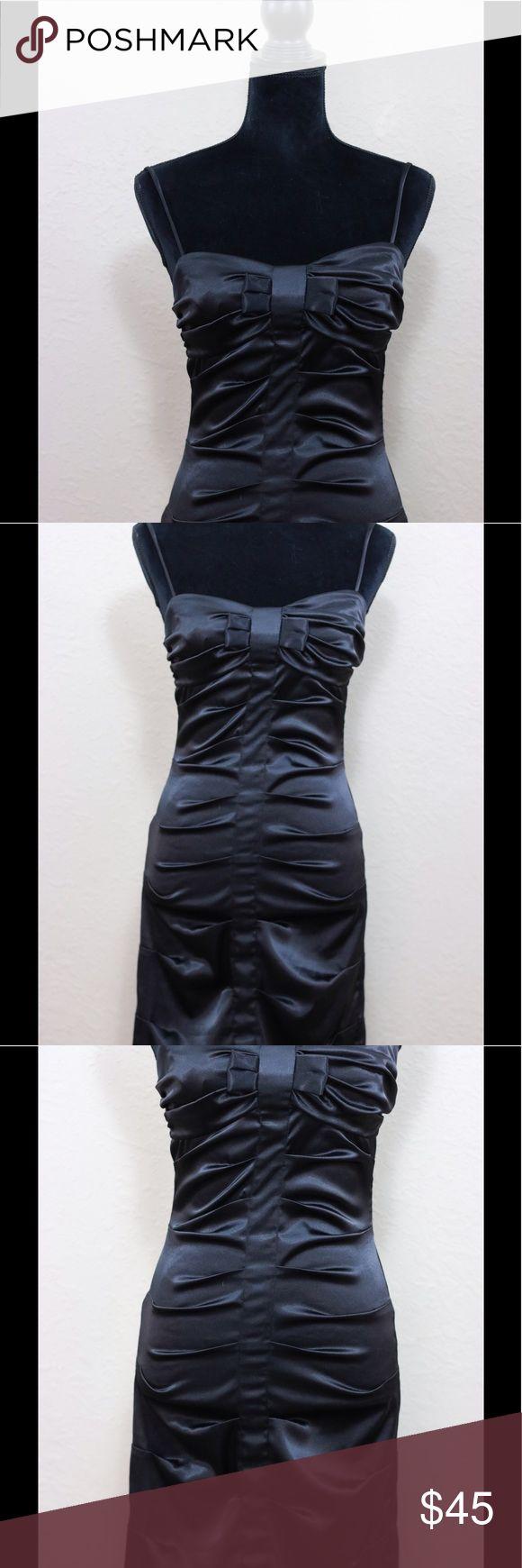 Taboo black bow bust mini cocktail dress 5/6 Pre-loved Taboo Dresses Mini