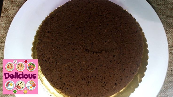 Homemade Chocolate Sponge Cake Dough Recipe - How to make chocolate Spon...