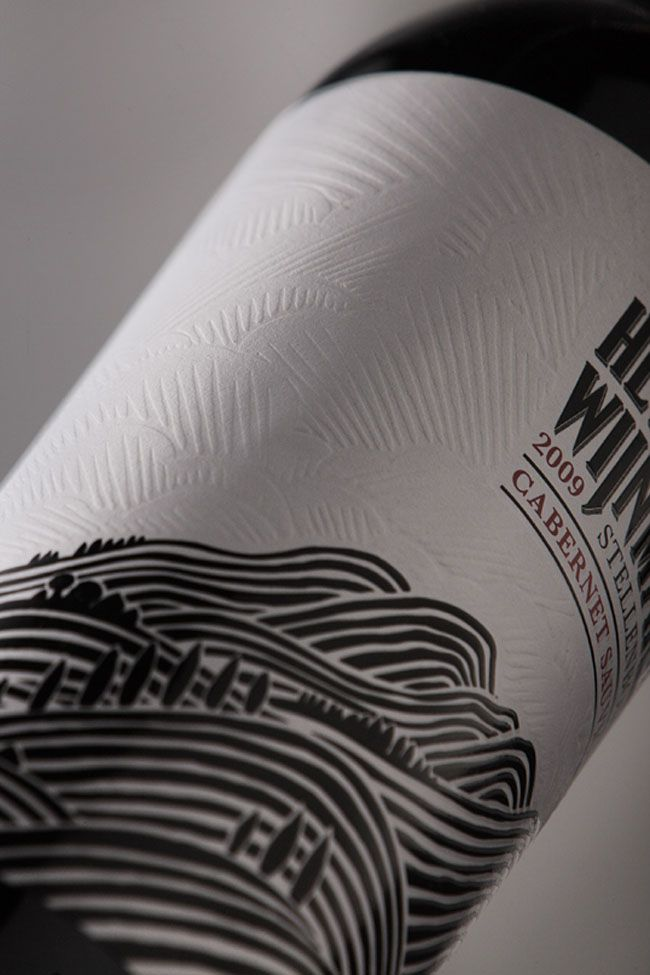 Packaging of the World: Creative Package Design Archive and Gallery: Helderberg Wijnmakerij wine vinos maximum vinho