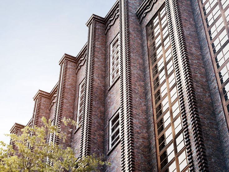 The architecture of the main Metropol Park building, with its striking facade in red 1930s brickwork, is a testimony to the urban inspiration provided by Berlin.