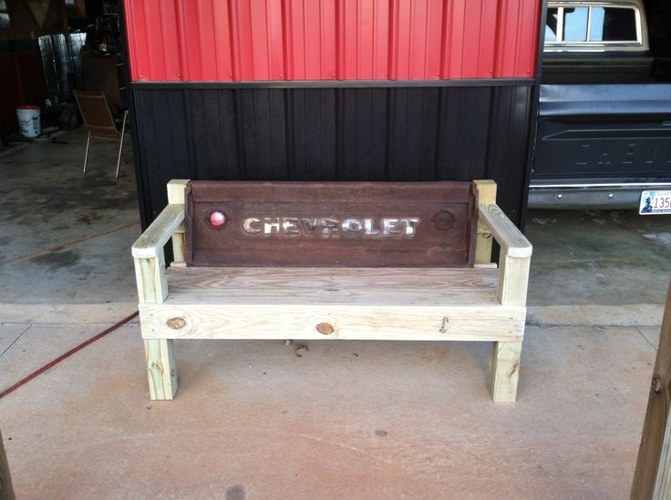 1930-1940 Chevy Truck Tailgate   Tailgate benches