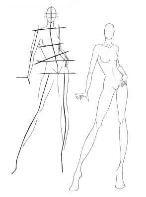 B-sides Fashion: < B-sides da Coleção > Especial Técnicas de desenho de moda