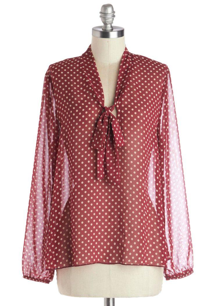Book Shop 'Til You Drop Top | Mod Retro Vintage Short Sleeve Shirts | ModCloth.com