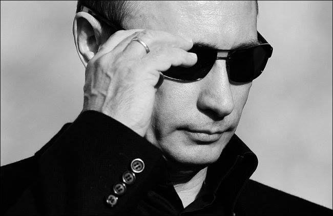 Vladimir Putin superman