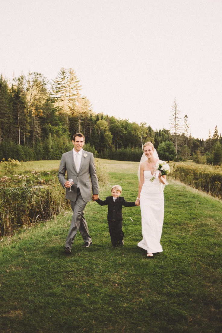 Quebec Auberge Val Carroll Wedding from Micheal B | Style My Pretty
