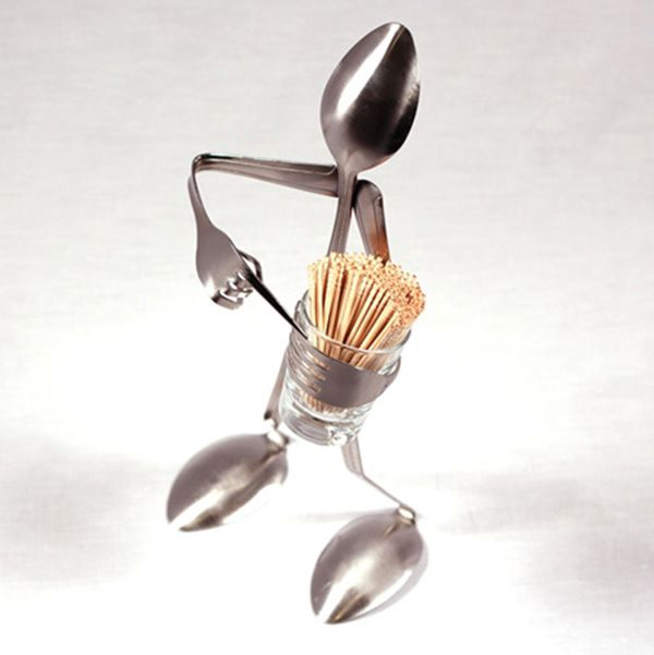 Toothpick Stand Spoon