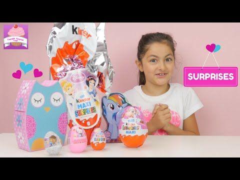 f3fbed1a9cc9 Disney Princess Kinder Maxi SURPRISE Egg ♥ My Little Pony Blind Bag ♥ Hello  Kitty ♥Doc McStuffins