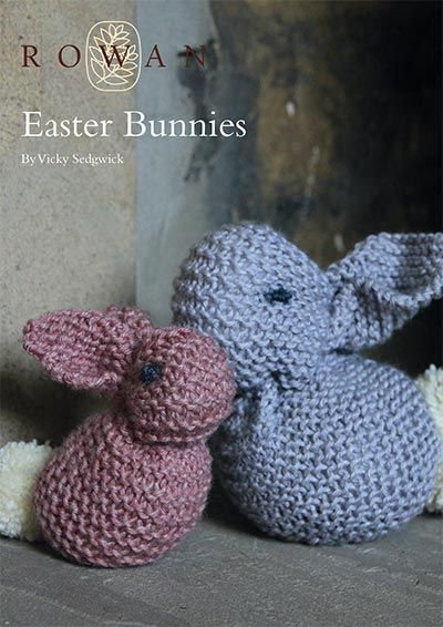 9 best free rowan patterns easter images on pinterest free knit these cute easter bunnies a free pattern download as part of the easter collection negle Gallery