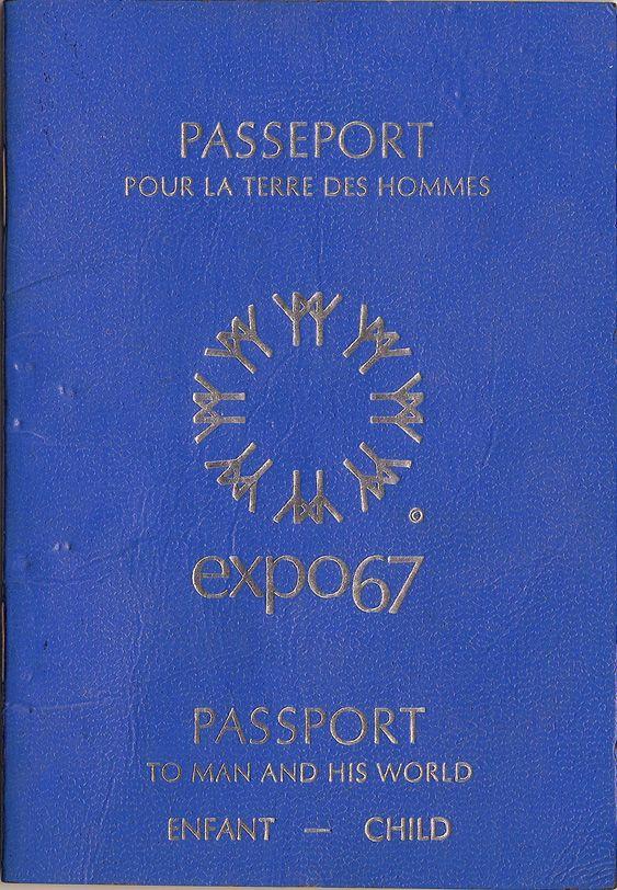 Le Passeport que tous les Québécois voulaient avoir pour la durée de l'Expo 67 Passport