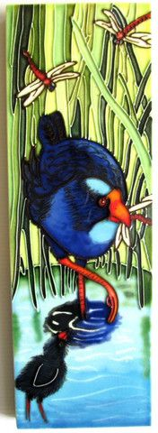 38 best Ceramic Art Tiles NZ Artists images on Pinterest | Art tiles ...