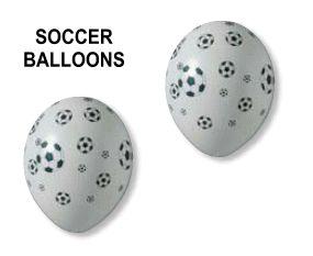Voetballen ballonnen - Promoprints Feestartikelen