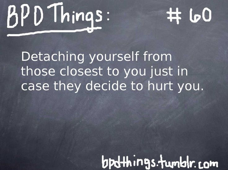 Borderline Personality Disorder is a severe mental illness in which the sufferer experiences...