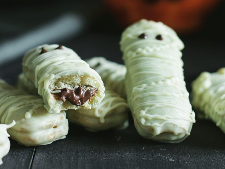Mummie biscotto di Halloween