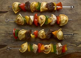 These Pierogy Kebabs look and taste great!