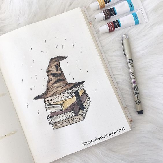 27 Magical Harry Potter Bullet Journal Layout And Spread Ideas