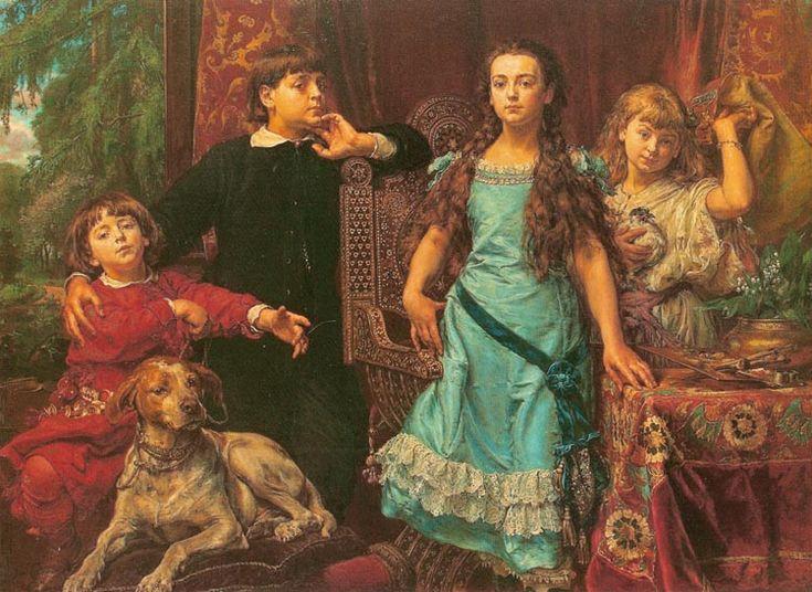 Artist's Children - Jan Matejko