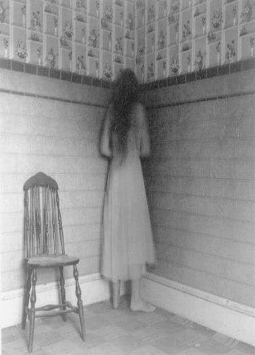 Stand in the corner she says. Well I'll become a tall and grotesquely thin ghoul. We'll see if she makes me stand in the corner again.