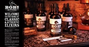 Bob's bitters at barsho