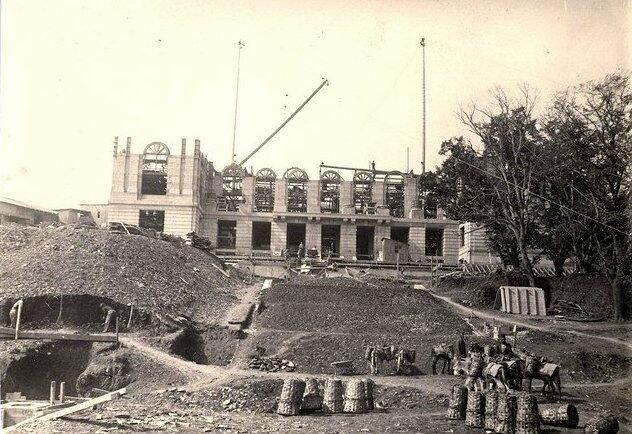 Twitter / hayalleme: Robert Koleji Gauld Hall inşa ...