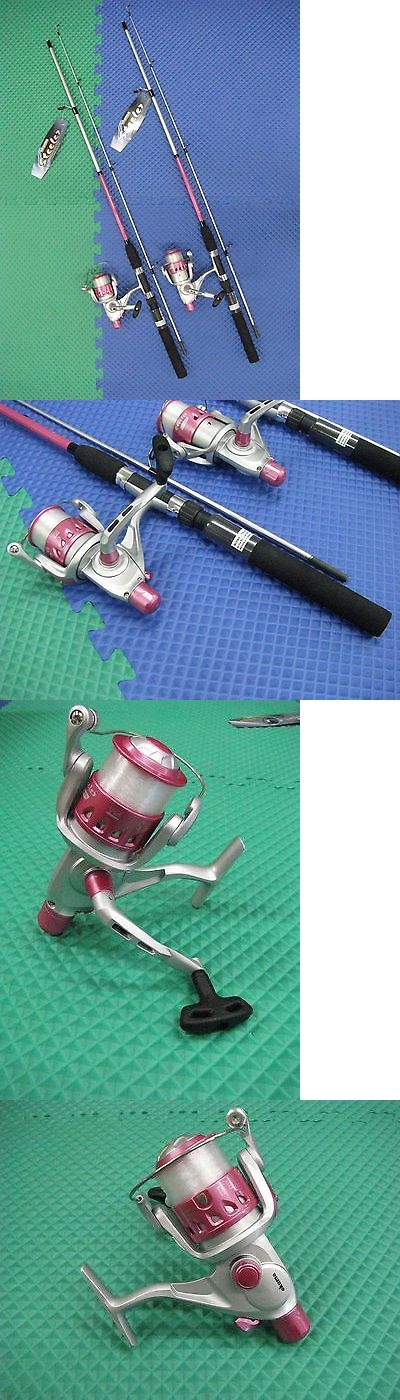 Spinning Combos 179956: Okuma Steeler 6 6 Rod And Reel Spinning Combo Pink 2 Pack #Slr-662-40Pk -> BUY IT NOW ONLY: $39.99 on eBay!