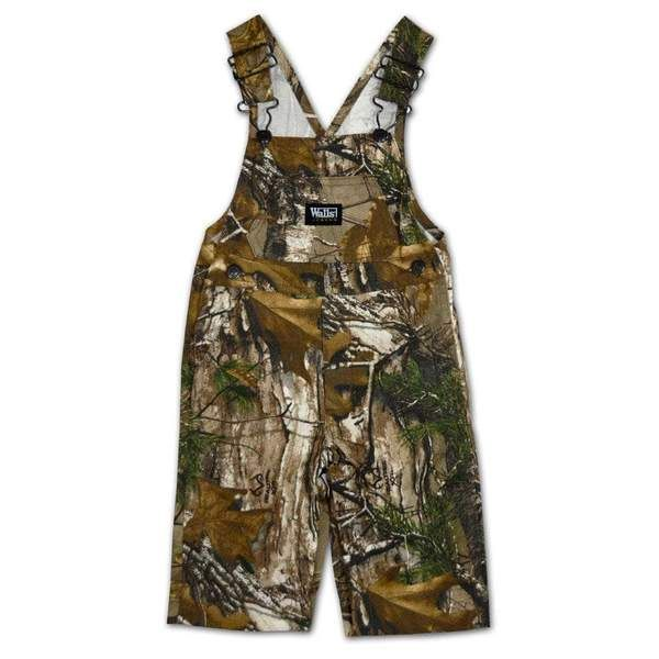 walls infant realtree xtra camo non insulated bib overall on walls hunting clothing insulated id=84659