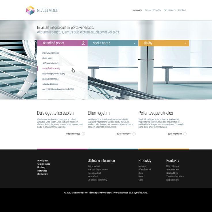 Glassmode #webdesign