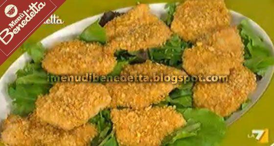 Pollo con Panatura di Patatine Fritte | la ricetta di Benedetta Parodi