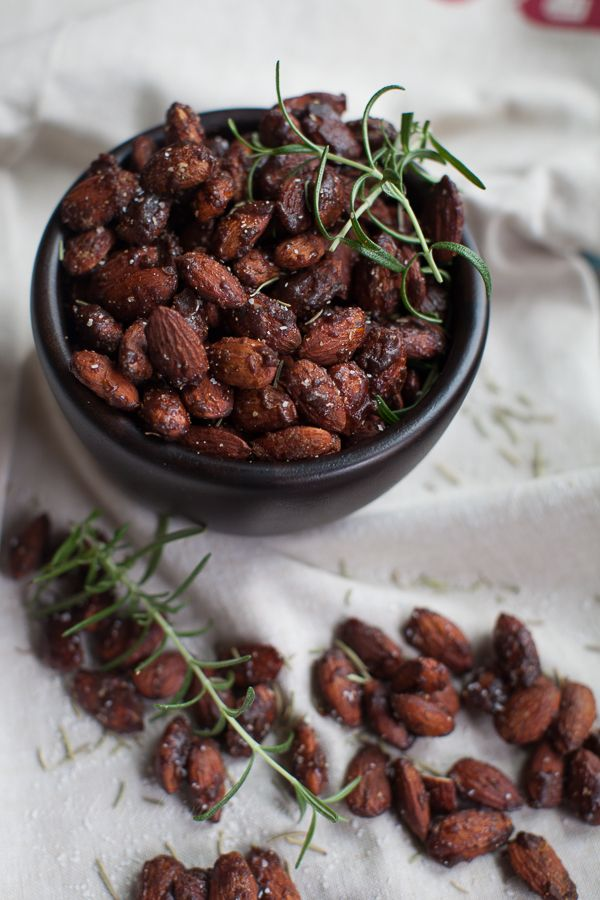 Spicy, Sweet, and Salty - I love these Honey Chipotle Spiced almonds