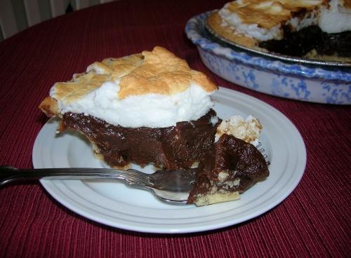 Sweet Chocolate Pie