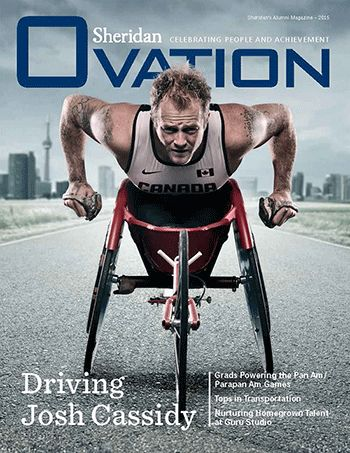 Check out our alumni magazine for 2015! The magazine is full of success stories and tips from our talented Sheridan graduates. Share any of the stories for the chance to win tickets to the Pan Am/Parapan Am Games! http://ovation.sheridancollege.ca/