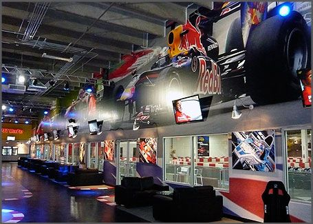 Indoor Go Kart Racing! 1 large FT Lauderdale / FL