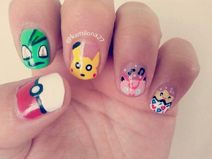 Nails pokemon uñas