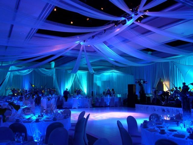 Looks like the night sky lights up the room! Prom Themes Fire And Ice