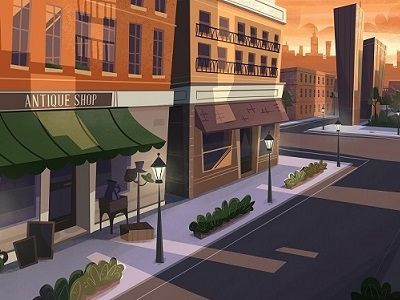 A climatic shot from our next animation. It makes us wanna just take a walk! www.facebook.com/blublustudios