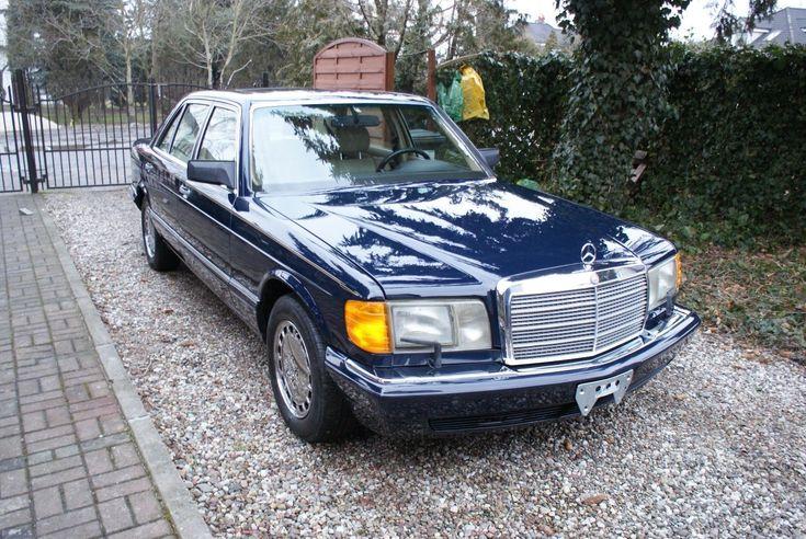 Mercedes W126 420 SEL 1990r. USA 150 photos!