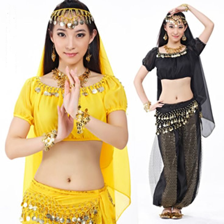 ==> [Free Shipping] Buy Best Wholesale nice bollywood belly dance costumes Sexy indian dancing costumes 12 colors Top BraPants Online with LOWEST Price | 32655746367