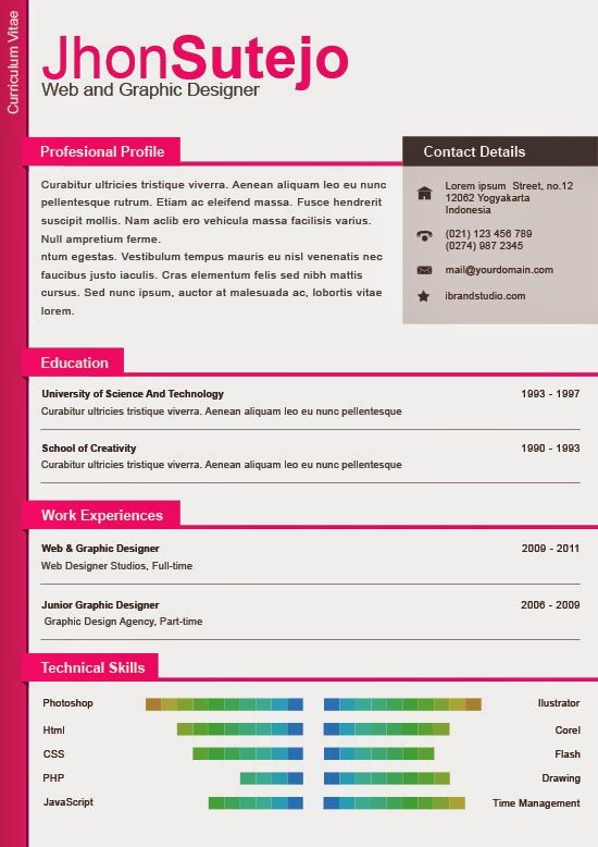 82 best Resume Templates \/ Plantillas images on Pinterest Free - free templates resume