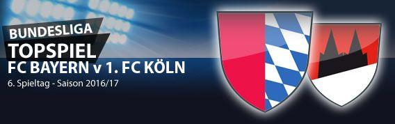#Bundesliga, der 6. Spieltag. Nach dem Topspiel der Kölner gegen Leipzig am 5. Spieltag sind die Geißböcke erneut die Mannschaft, auf die sich alle Blicke richten - denn wer hätte vor der Saison gedacht, dass das Topspiel am 6. Spieltag Bayern München v 1. FC Köln lauten würde (der 1. gegen den 3. der Liga)? Ob es etwas gegen den Rekordmeister auszurichten gibt... Unsere Vorschau und aktuelle Wettquoten auf MeinOnlineWettanbieter.com