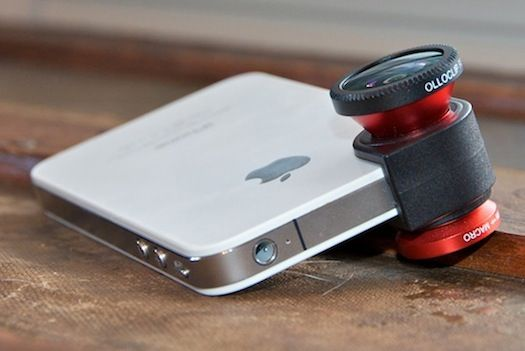 3-In-1 Clip-On Lens Turns iPhone Into A Fully Functional Camera