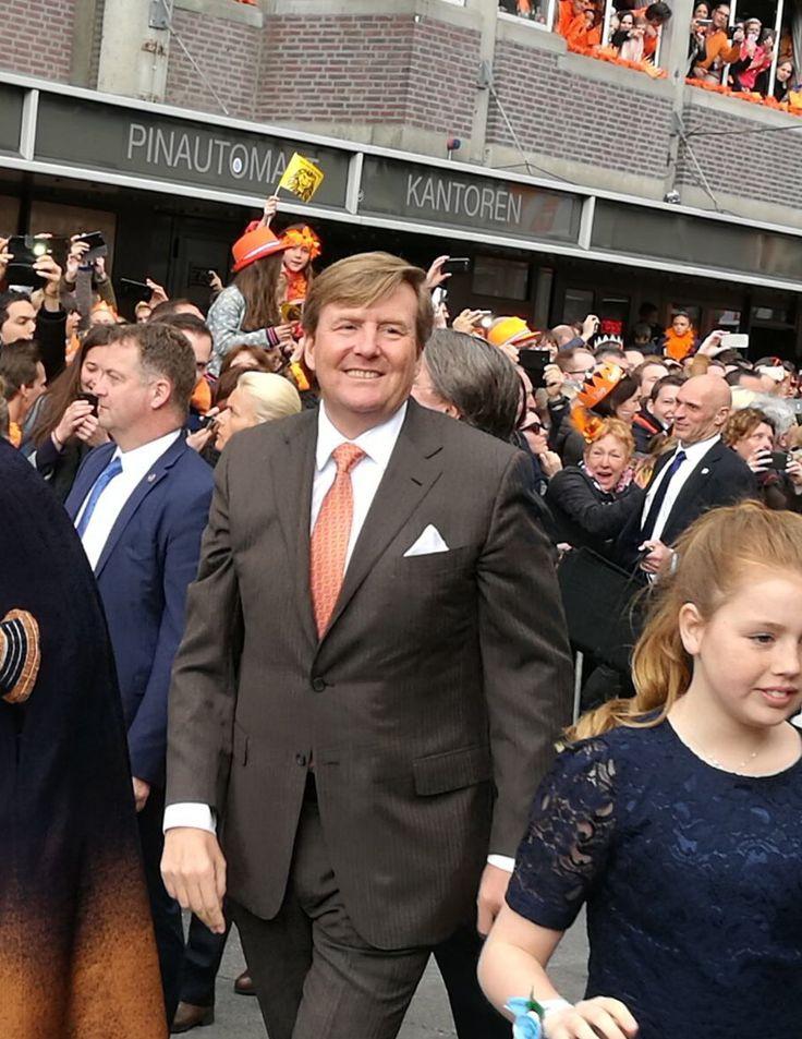 Willem-Alexander. King's Day 2017, Tilburg